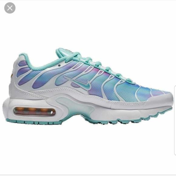 Nwt Whitelight Aqua Nike Air Max Plus